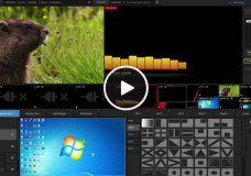 Livestream Studio User Interface